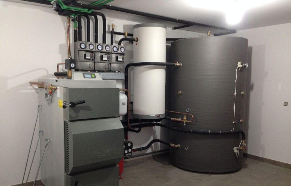calefacción para viviendas