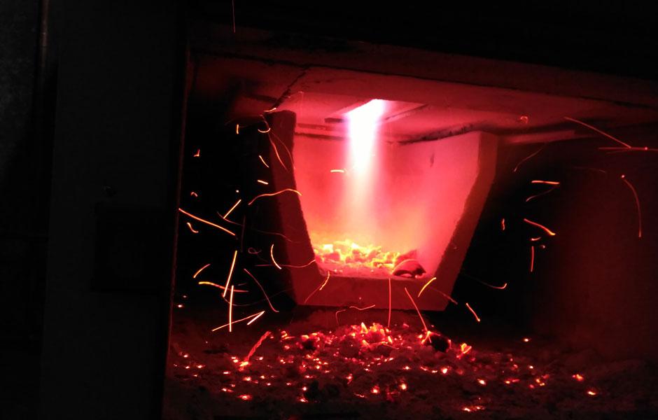 caldera de leña gasificación