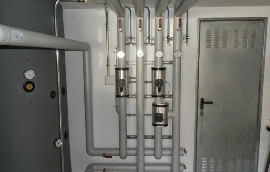 colector calefacción