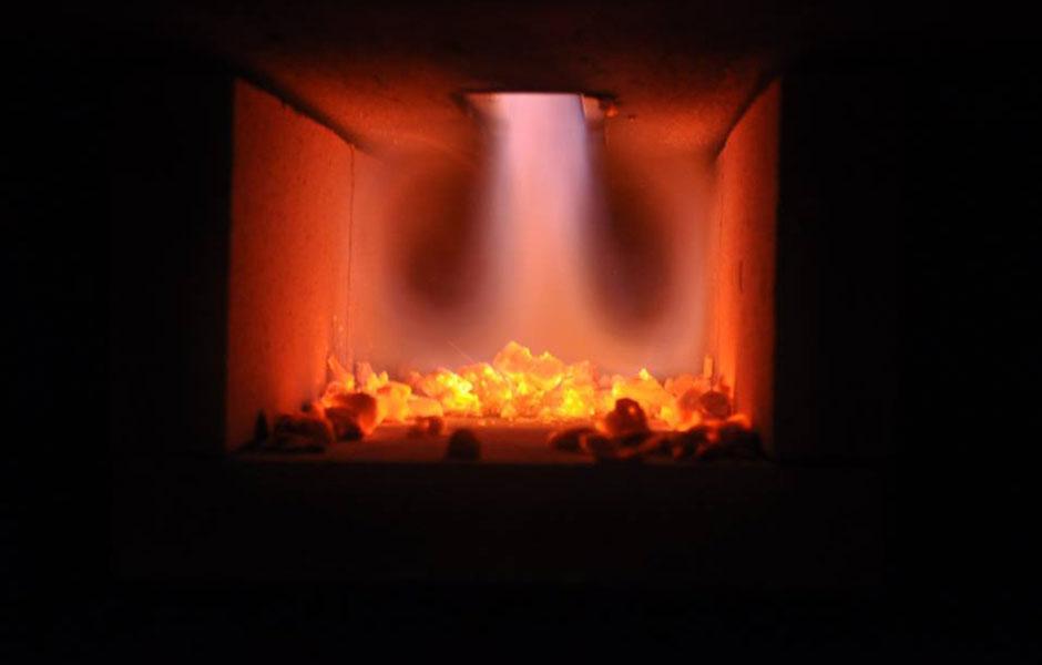 caldera de gasificación casa rural
