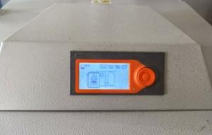 regulación calefacción con leña