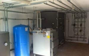 tubería calefacción acero carbono