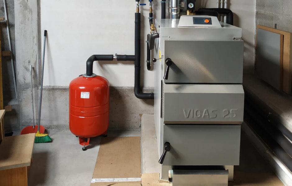 calderas de leña VIGAS V25